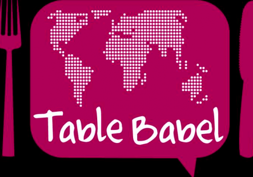 Table Babel: Imparare l'Inglese Mangiando Italiano